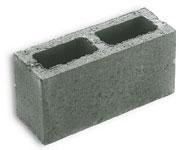 betonblok 39x14x19 hol