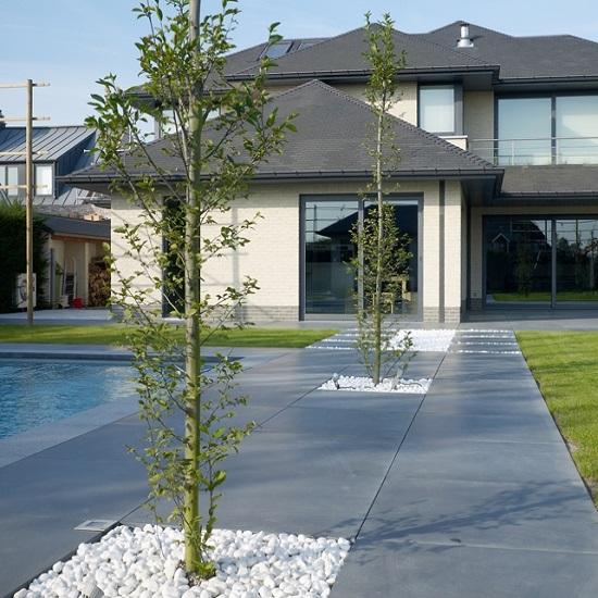 Witte Terrastegels 40x40.Bouw Punt De Witte Promoties Beton Br Tegels